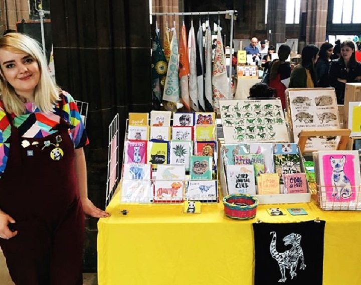 A stall at a recent Manchester Print Fair