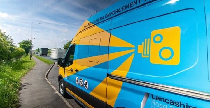 You won't be able to miss the brightly coloured vans Pic: LancsRoadSafety