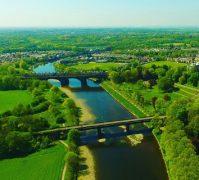 Preston's bridges in the sunshine Pic: Skycam Preston
