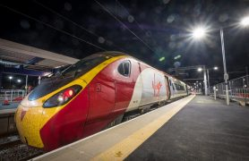 The Virgin service was able to run between Preston and Blackpool