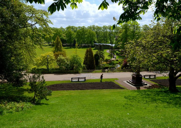 A view over Avenham Park Pic: Tony Worrall
