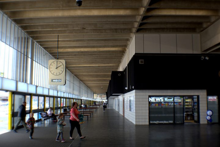 Inside the new look Bus Station Pic: Tony Worrall