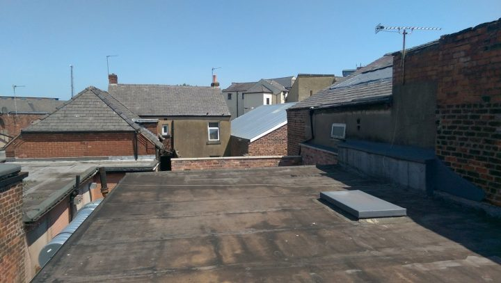 This will eventually be the roof terrace at Plau Pic: Blog Preston