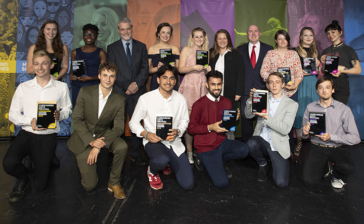 The Lancashire Arts Festival Awards winners