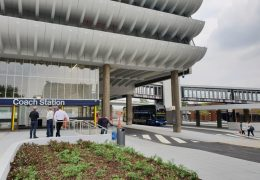 The new look coach station Pic: LancsCityDeal