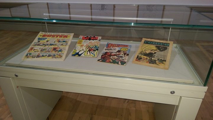 Some rare comics are on display - not for reading! Pic: Blog Preston