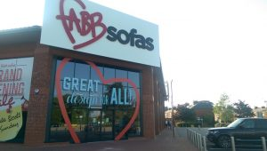 Fabb Sofas took on the former Tesco store Pic: Blog Preston