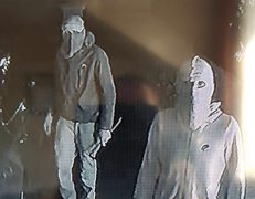 Two of the men seen on CCTV Pic: Lime Bar