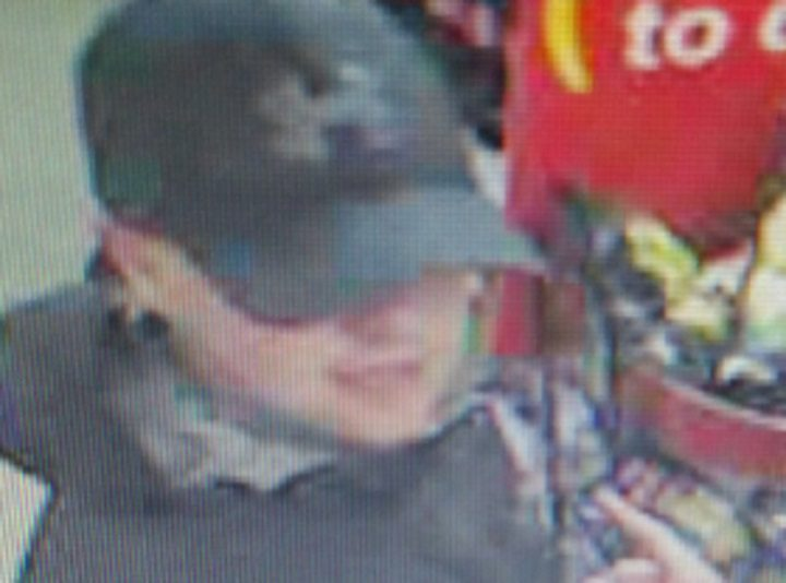 A man police want to speak to after McColls raid