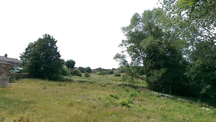 The current land in Fulwood where the flats would be built Pic: Blog Preston