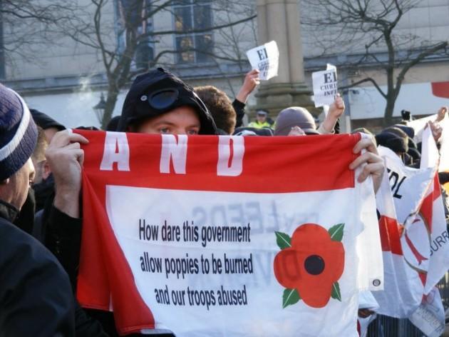 EDL protest in Preston - (c) Michael Morrison