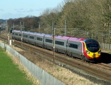 A Virgin Train Class 390 Pendolino on the west coast main line (c)Ingy the Wingy on Flickr