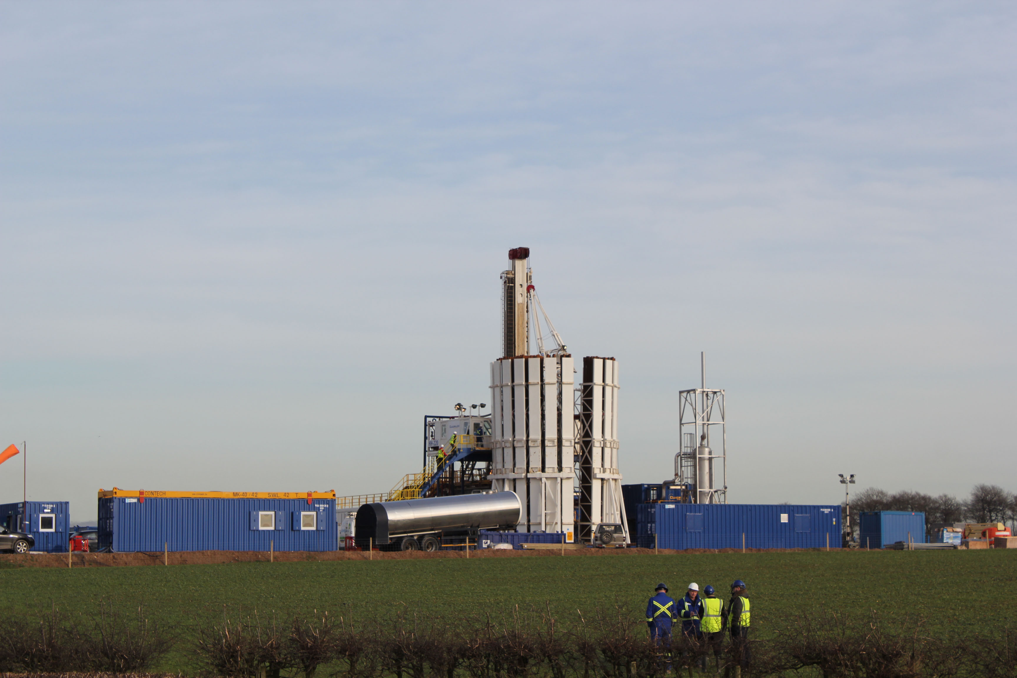 Fracking in Lancashire: 1.1 magnitude tremor halts work