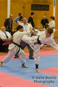 karate competition at penwortham sports centre