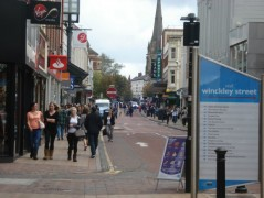 Fishergate was full of shoppers when the incident happeneda