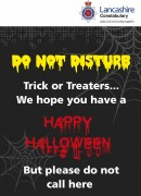 police halloween poster