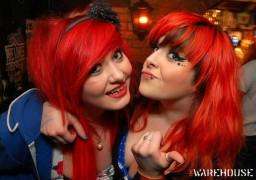 warehouse tuesdays red head girls
