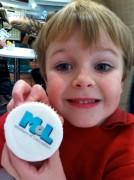 little boy at museum of lancashire