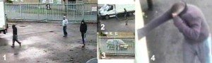 cctv from roman way thefts