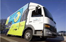The Citizenzone bus has been praised for helping residents