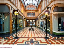 The Miller Arcade is singled out as being impressive but isolated