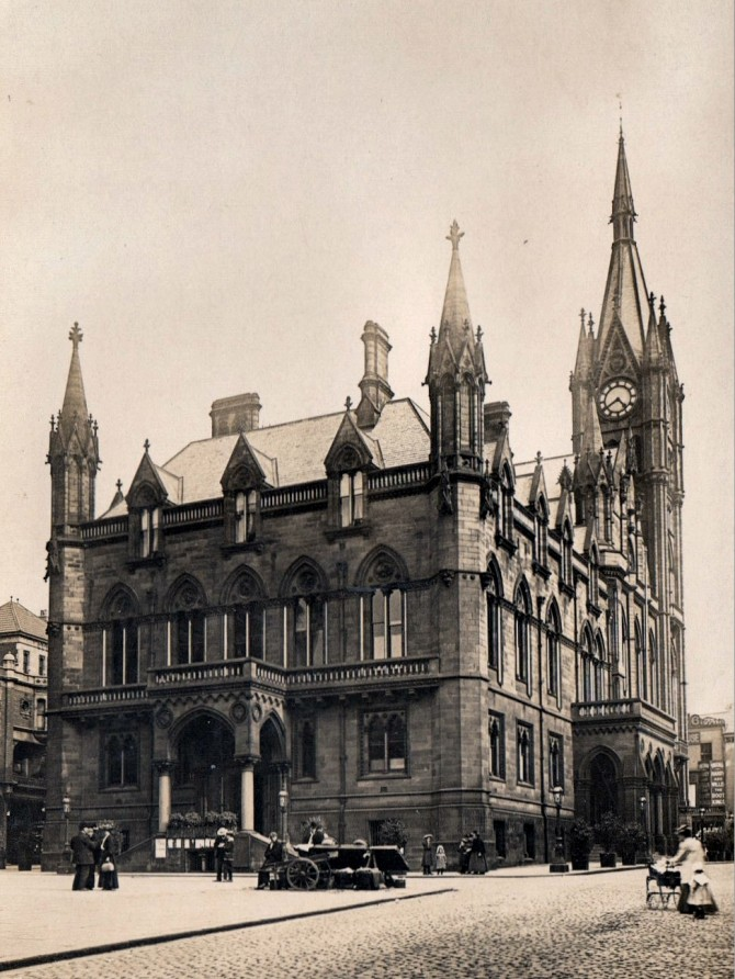 Preston's Magnificent Town Hall.