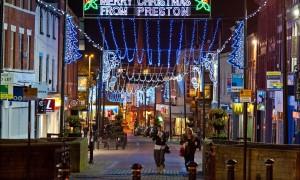 preston christmas lights 2012