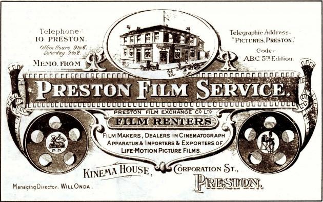 The Preston Film Service, Kinema House, Corporation Street, Preston
