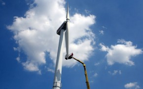 Wind turbines could become a feature of the Docklands landscape