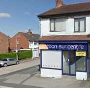 The tanning salon recently closed after a drop off in business