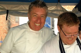 Paul Heathcote will host the Square Shack
