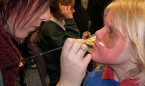 Face painting will be just one of the activities at the Easter Festival