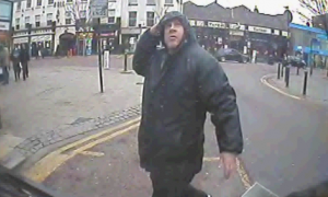 Lancaster Road: Lynch who is 5ft tall was spotted at a bus stop