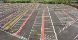 The empty Bluebell Way park and ride will be turned into a hub for new businesses. Picture: Eric Wright Group