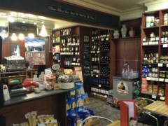 Inside the deli at Slice of Sicily in Penwortham