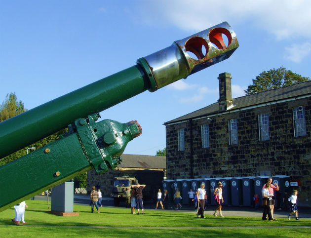 Fulwood Barracks is open to the public during certain days of the week