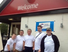 Volunteers at the Friends group