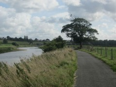 Part of the Guild Wheel cycle route