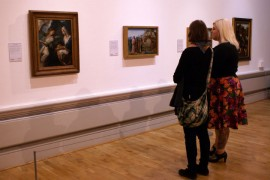 Masterstrokes preview saw art lovers take a look around