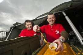 Army chefs from the Kimberley Barracks in Preston