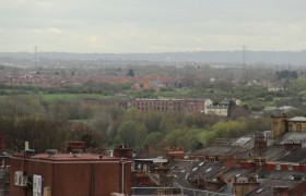 View of Preston from the Harris roof
