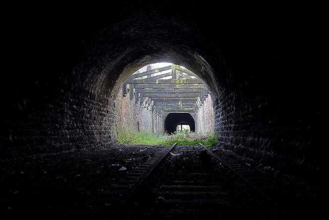 The tunnel runs under a good swathe of Preston before heading off towards Longridge