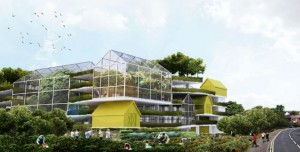 The Shelf-Life plan proposes a very different use for the top of Avenham car park