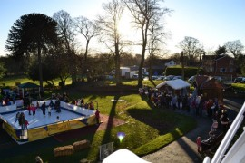 Last year's Christmas Festival at St Catherine's Hospice