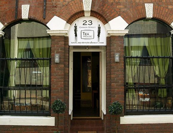 Mystery Tea House in Cannon Street