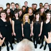 Music undergraduates in the UCLan chamber choir