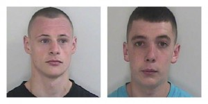 Lee Hewitt and Daniel Little were jailed for stealing from a home in Penwortham
