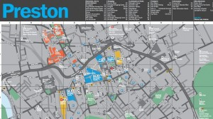 The new look city centre map