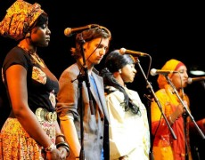 The Manchester International Roots Orchestra performing