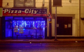 Pizza City is a popular student takeaway on Friargate